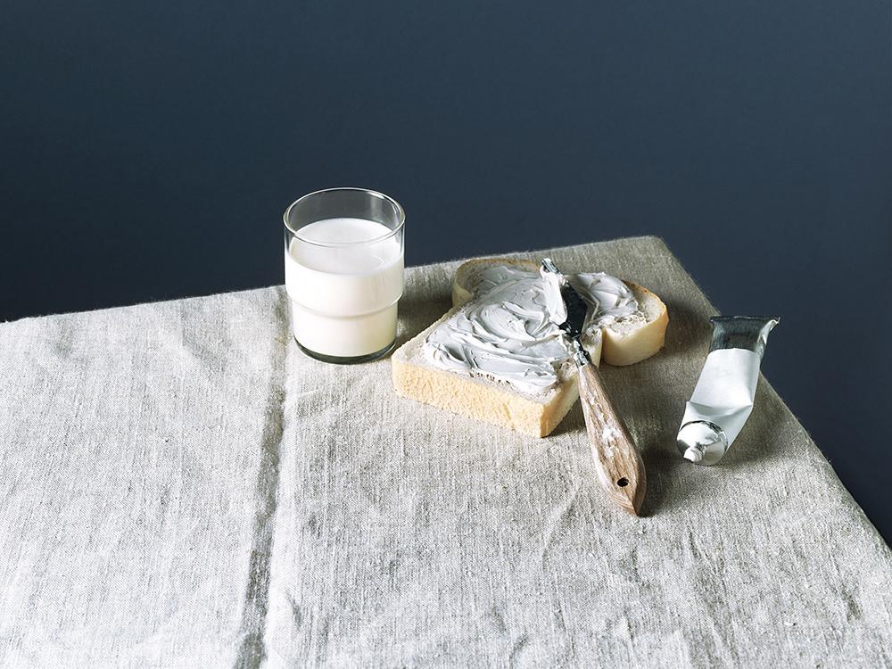 foodstyling art direction ztrdg hollandse meesters verf melk plamuur