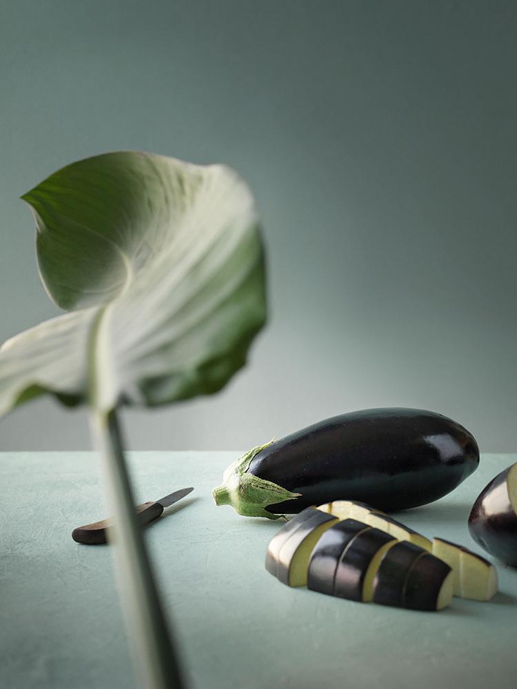 foodstyling receptontwikkeling art direction ztrdg aubergine