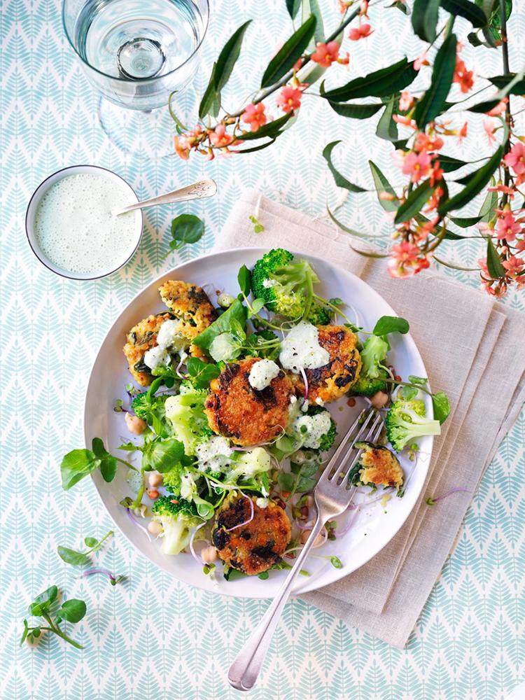 receptontwikkeling foodstyling gezondnu magazine salade broccoli veldsla