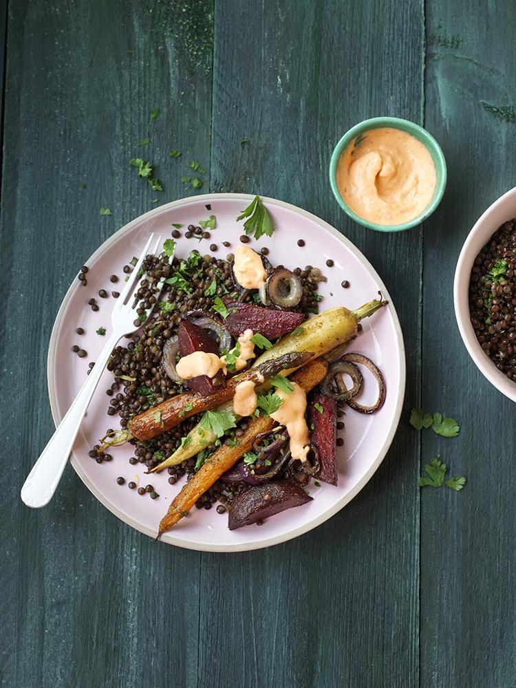 receptontwikkeling foodstyling gezondnu magazine linzen wortelen