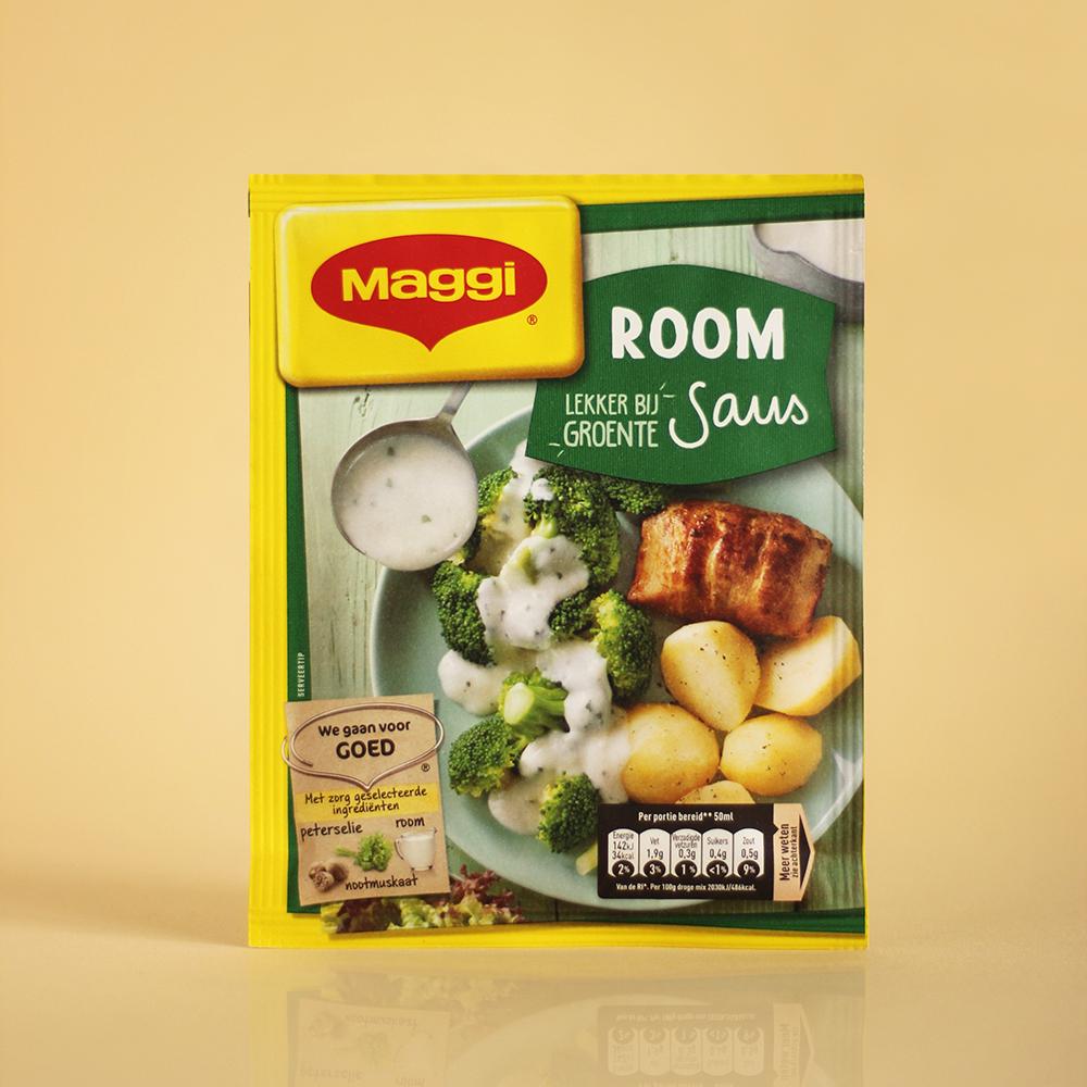 foodstyling receptontwikkeling verpakking maggi sauzen room