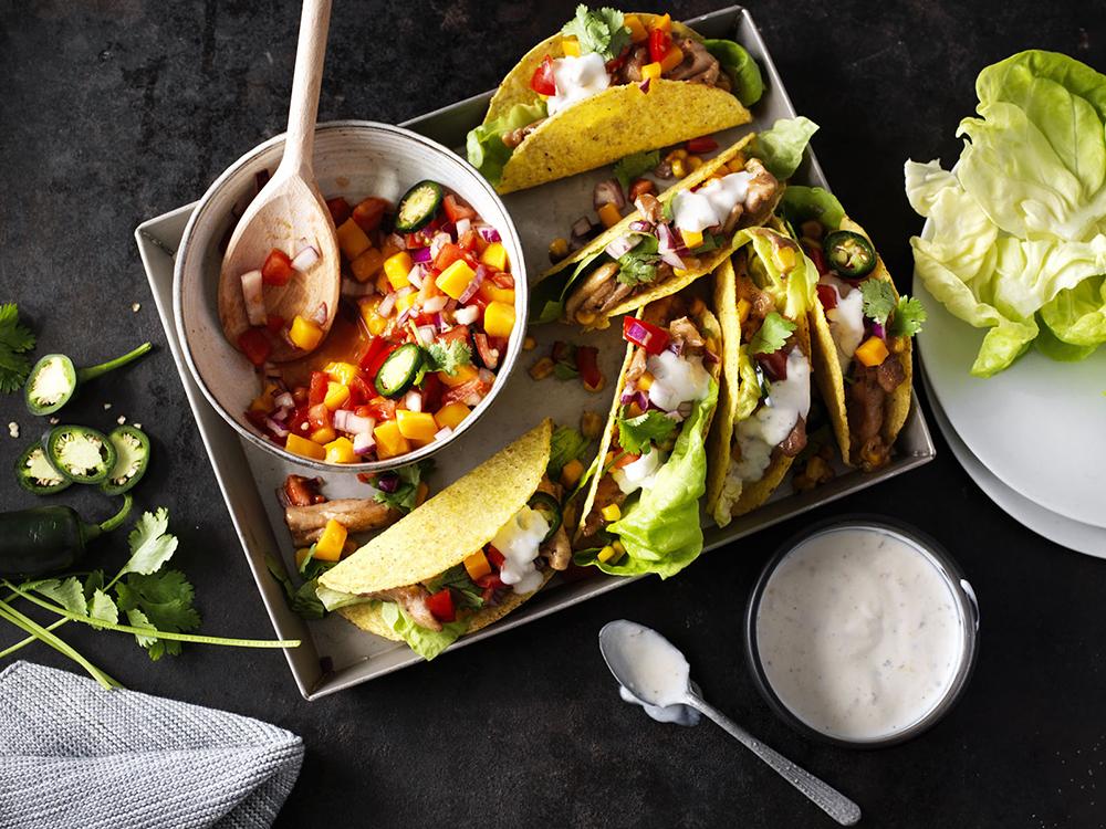 foodstyling receptontwikkeling maggi website taco