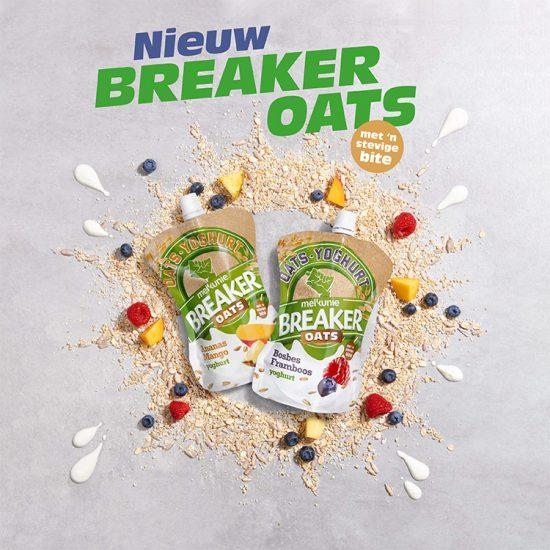 foodstyling melkunie breaker oats