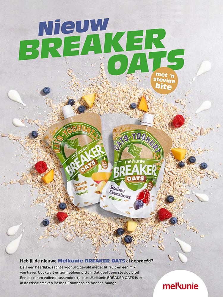 foodstyling styling melkunie breaker oats