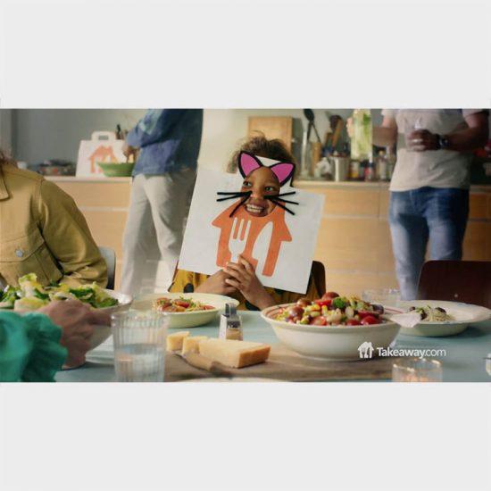 foodstyling TakeAway commercial